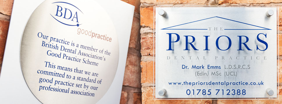 Why Choose The Priors Dental Practice, Stafford