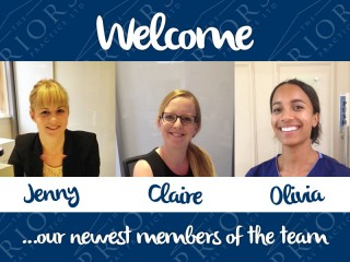 Welcome to our newest members of the team
