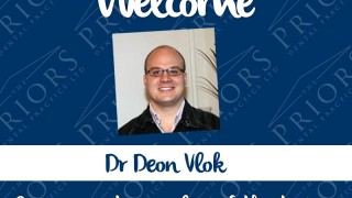 Dr Deon Vlok at The Priors Dental Practice