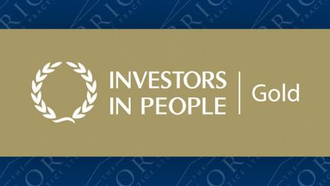 Investors In People Gold Award Standard
