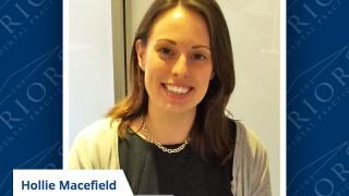 Hollie Macefield - Team Member of the Year 2015