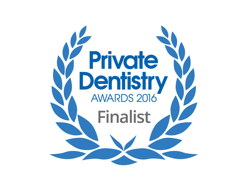 Private Dentistry Awards 2016 Finalist