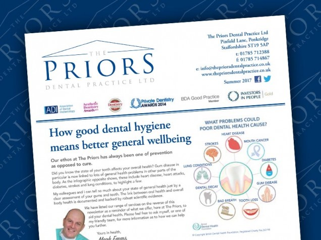 The Priors Spring/Summer 2017 Newsletter