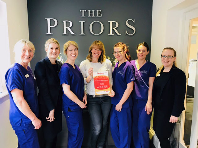 The Priors Dental Practice at The National Dentistry Awards 2017