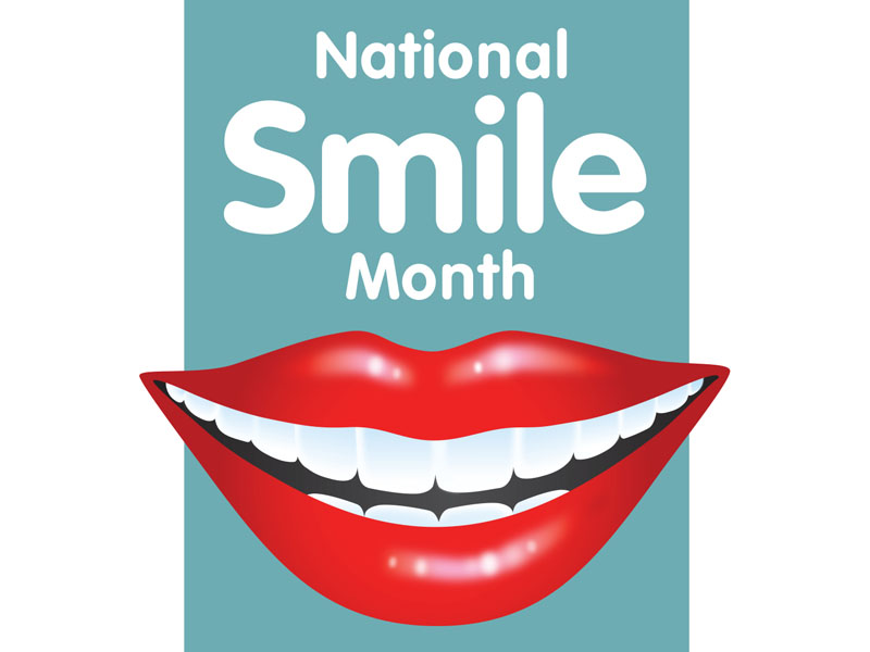 National Smile Month - The Priors Dental Practice, Stafford