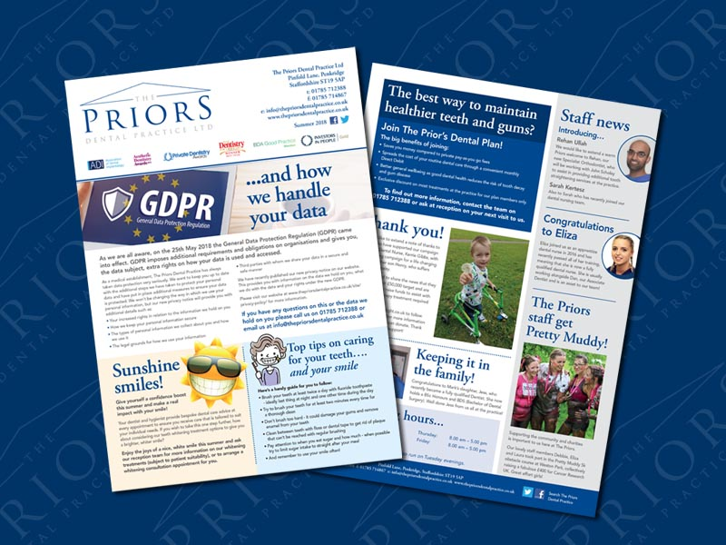 the-priors-dental-practice-stafford-summer-newsletter-2018-001