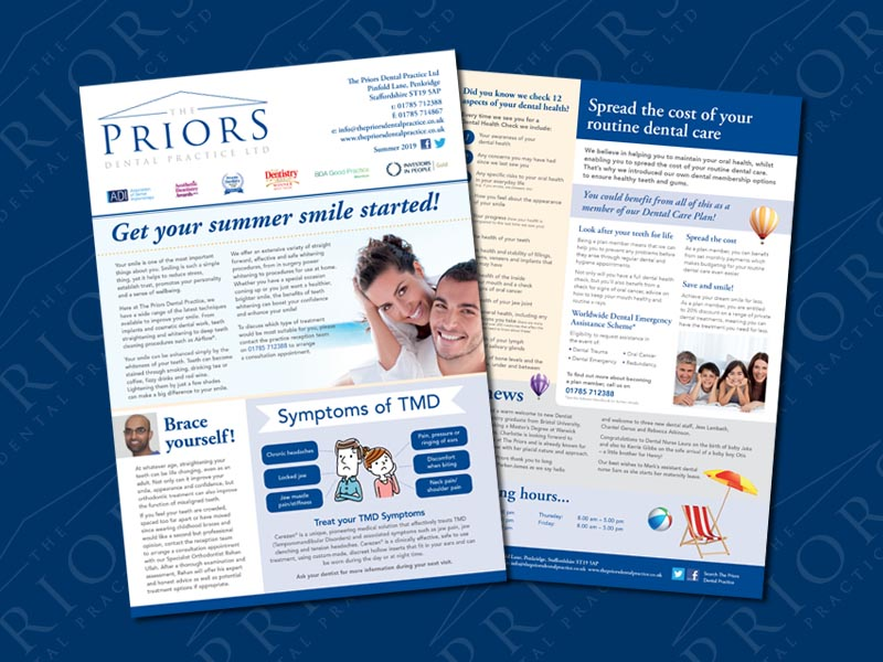 the-priors-dental-practice-stafford-summer-newsletter-2019-001